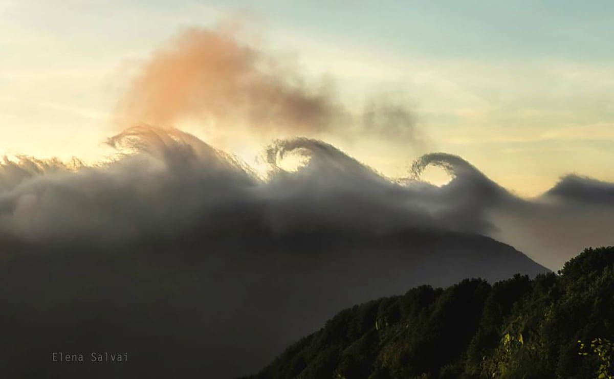 Kelvin Helmholtz clouds (Italy)