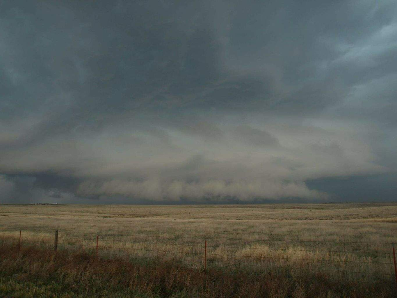 A little over two years ago I drove solo from Missouri to the Texas Panhandle and was treated to a tornado near Groom Texas as well as this incredible Supercell scraping the ground in the Texas Panhandle