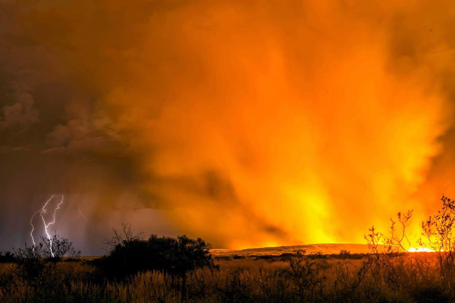 Flames and flanges taken in Western Australia