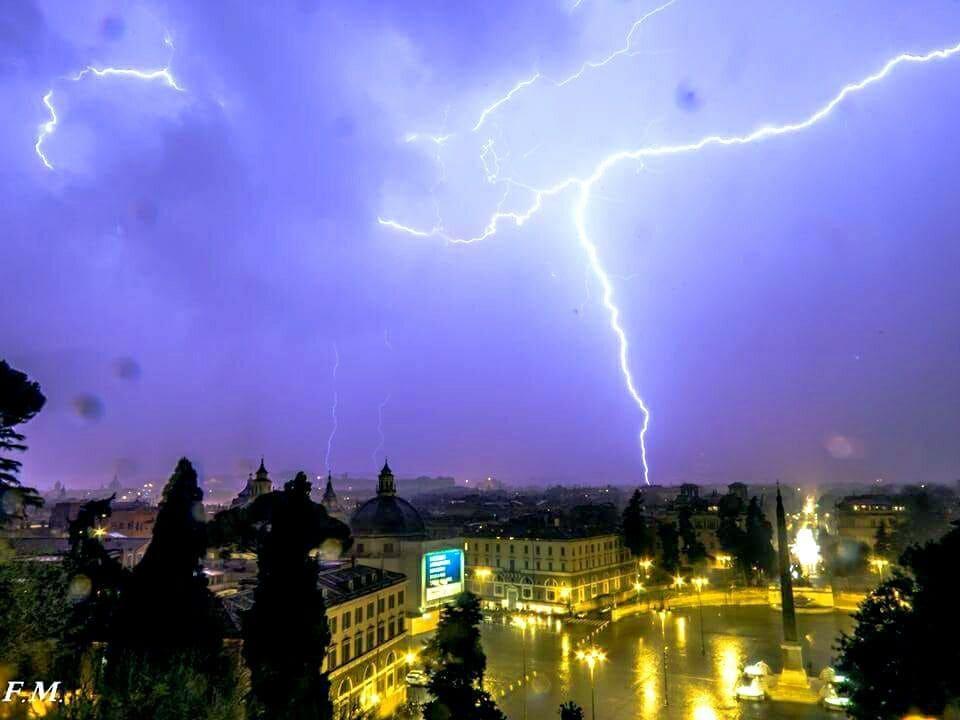 Night time in Rome