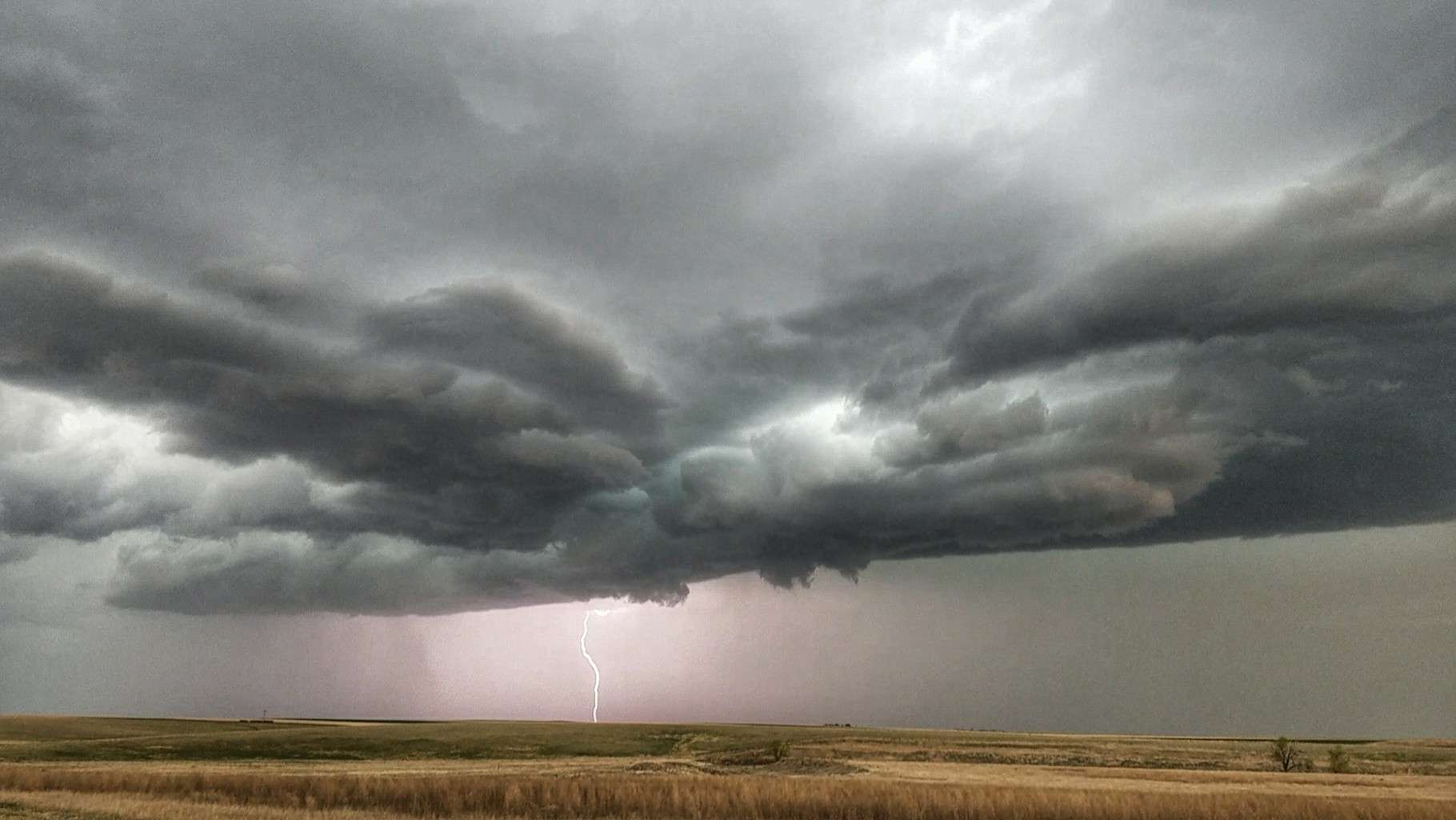 Helluva chase in Colorado today!