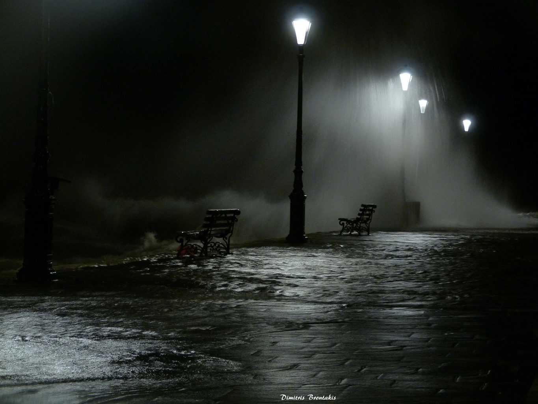 Hi everybody.Night storm.
