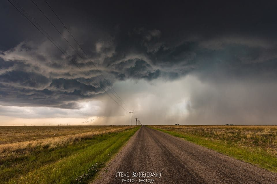 Oh that hailstorm.... Stormscapes in Clovis New Mexico 05/09/2017