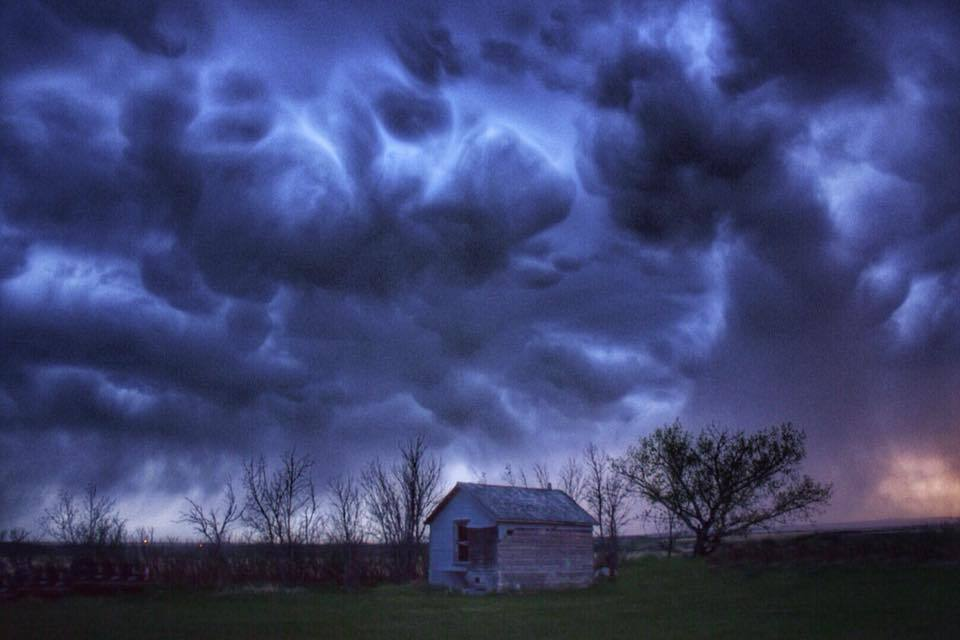 Storm from May 11th 2017 Orkney, Alberta Canada