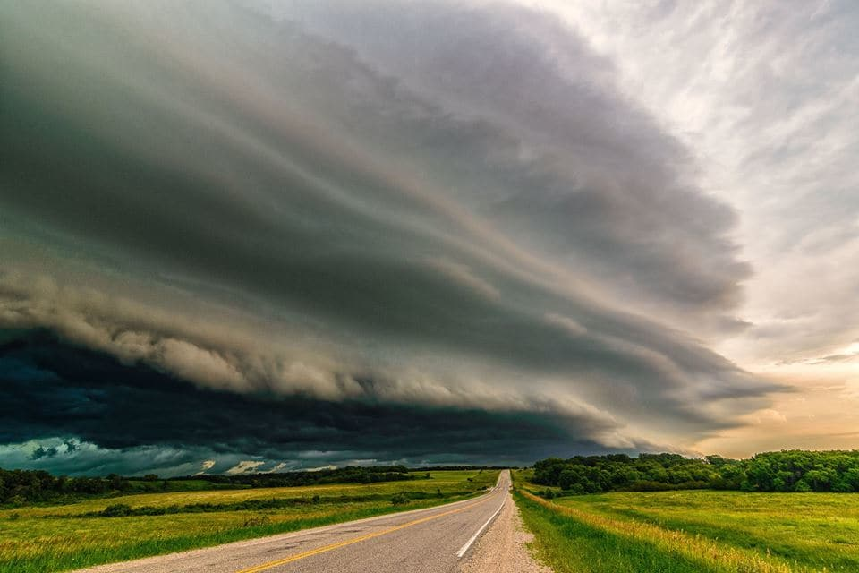 Look Out Cartwright,Manitoba July 20/16 Wild storm day. Seemed to go on and on. Beautiful!