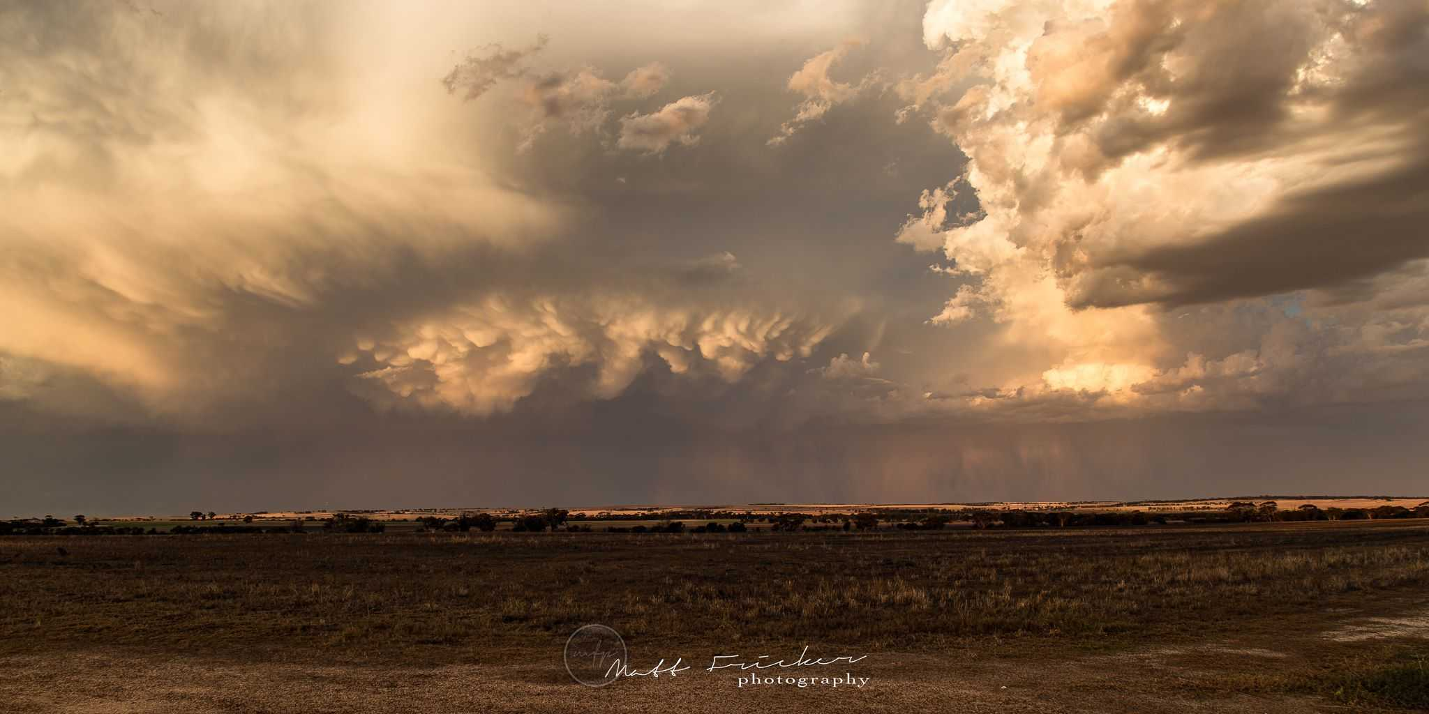 6th March 2017, near Cunderdin, Western Australia. Not bad for a moderate storm forecast day. This thunderstorm dumped heaps of rain had a very strong gust front that whipped up lots of dust. Not long after getting this photo I had to relocate as I was worried about possible hail.