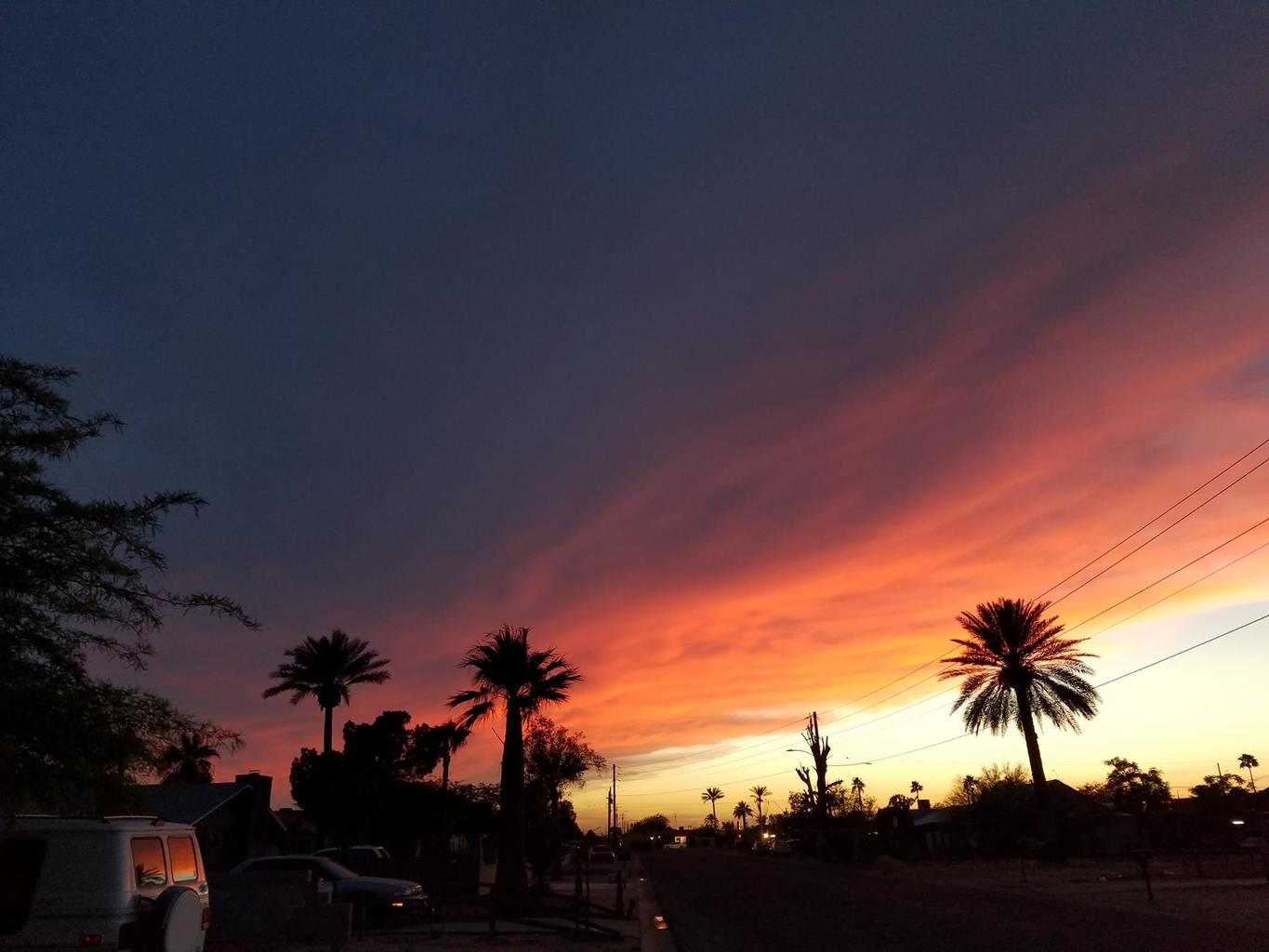 Tonight's sunset was too gorgeous to not share. Taken in Casa Grande, Arizona.