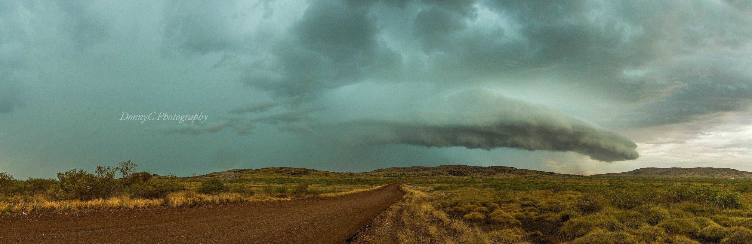 Storm season is pretty much over for us up here in Karratha in NW Australia, so going through some old pics.... I loved this one from a while back..Almost looks like a Blue Whale coming out of the Clouds..