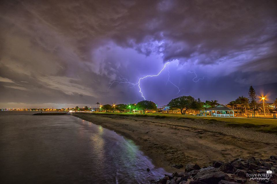 digging back into the older lightning shots, this one from January 2016, shot at Brighton, Brisbane
