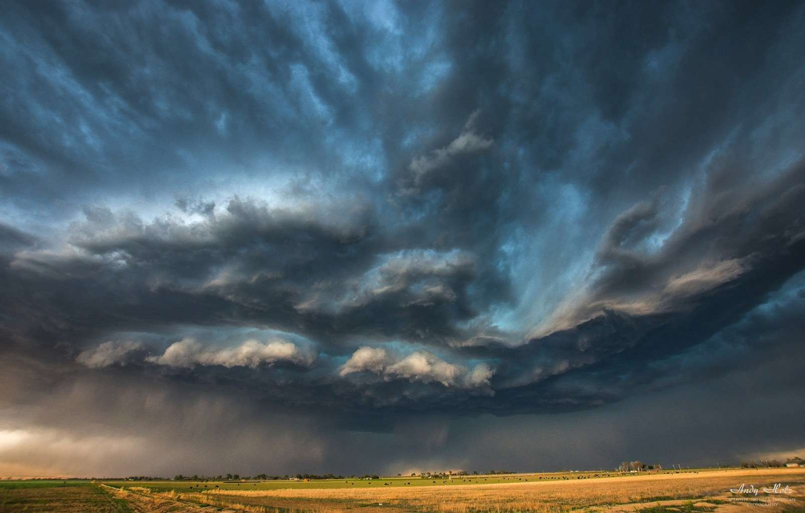 Highbased supercell in the high plains, Lamar/CO (May 2nd 2015)