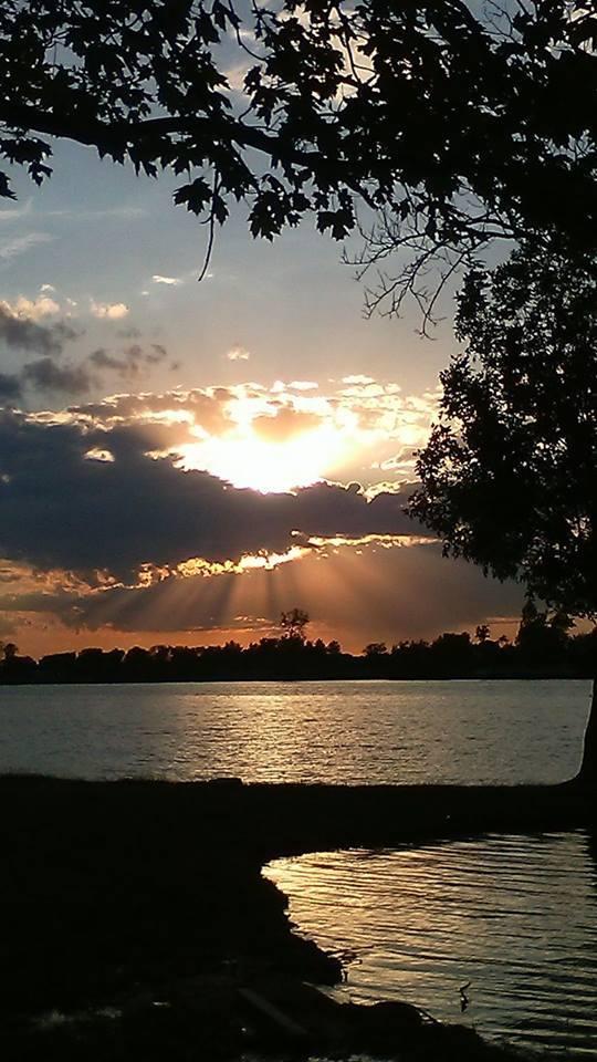 So beautiful greentown Indiana tonight sunset