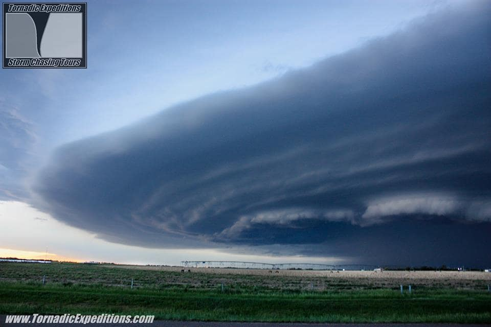 Structure for the books last Friday in Colorado and Kansas. Seeing storms like this makes you feel alive!