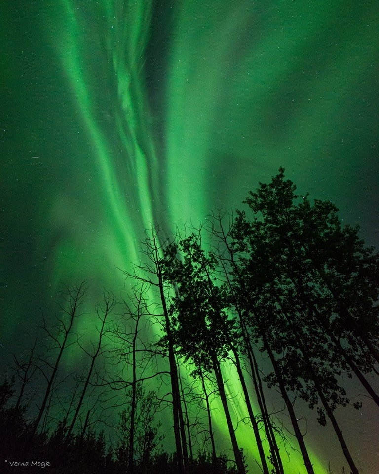 Eastern Manitoba, CANADA, was treated with a sweet Northern Lights display that will be very hard to surpass! Taken May 28 at 2:24 am--midway through the strongest part of the storm which lasted several hours. Sadly, many people to the south rarely experience this amazing phenomenon. It seems, however, there must have been one heck of a geomagnetic storm to push the Aurora band to lower latitudes last night ... even Arizona I hear! Did anyone further south than that get to see the Lights?