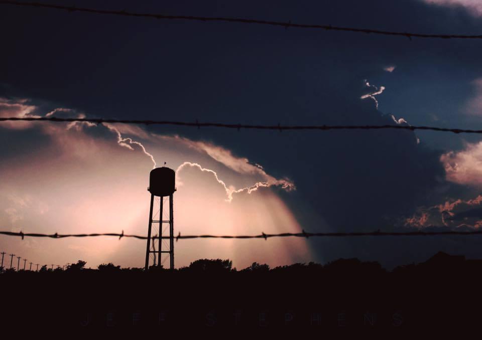 Texas style sunset
