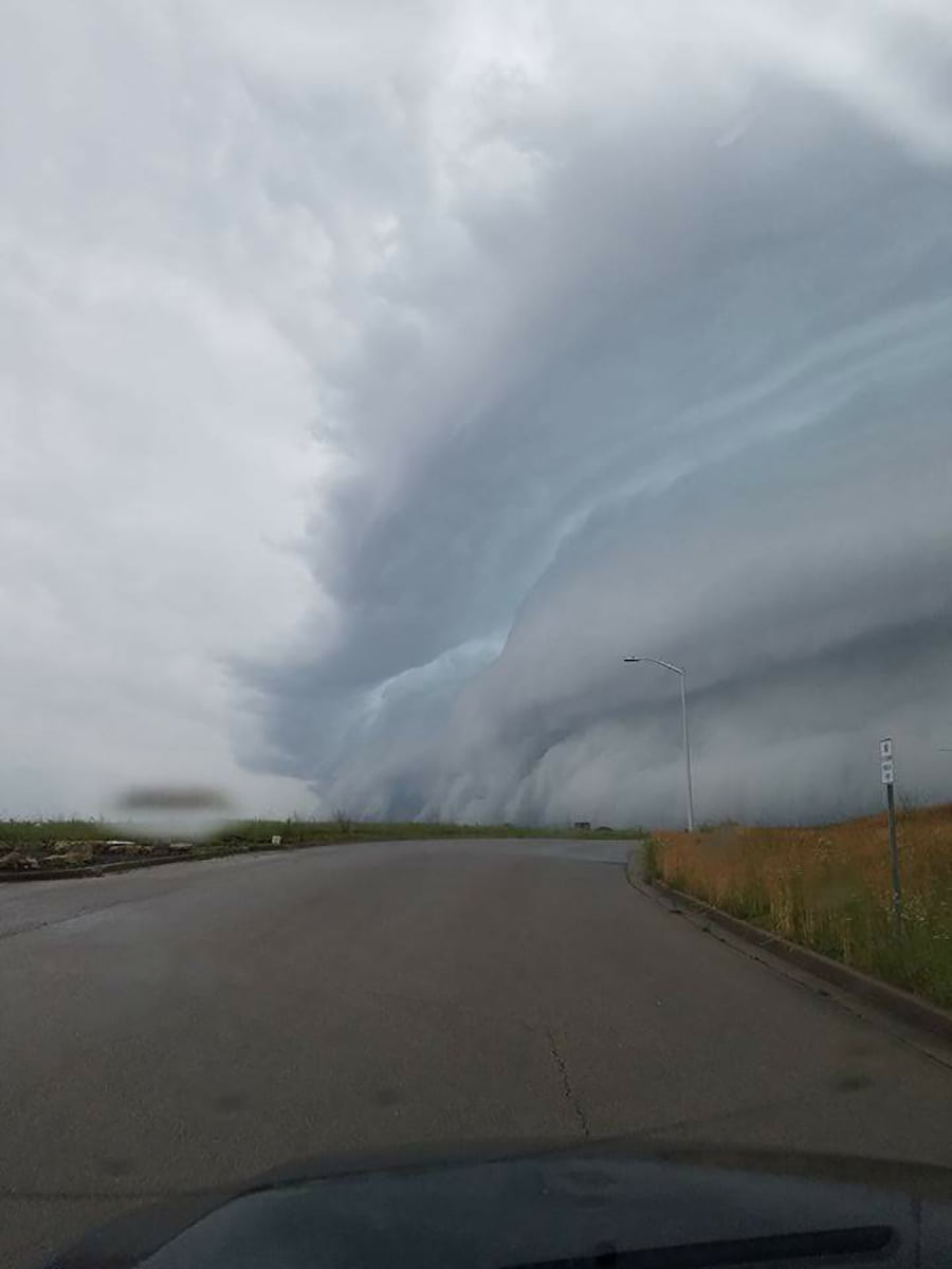Missouri Shelf Cloud.