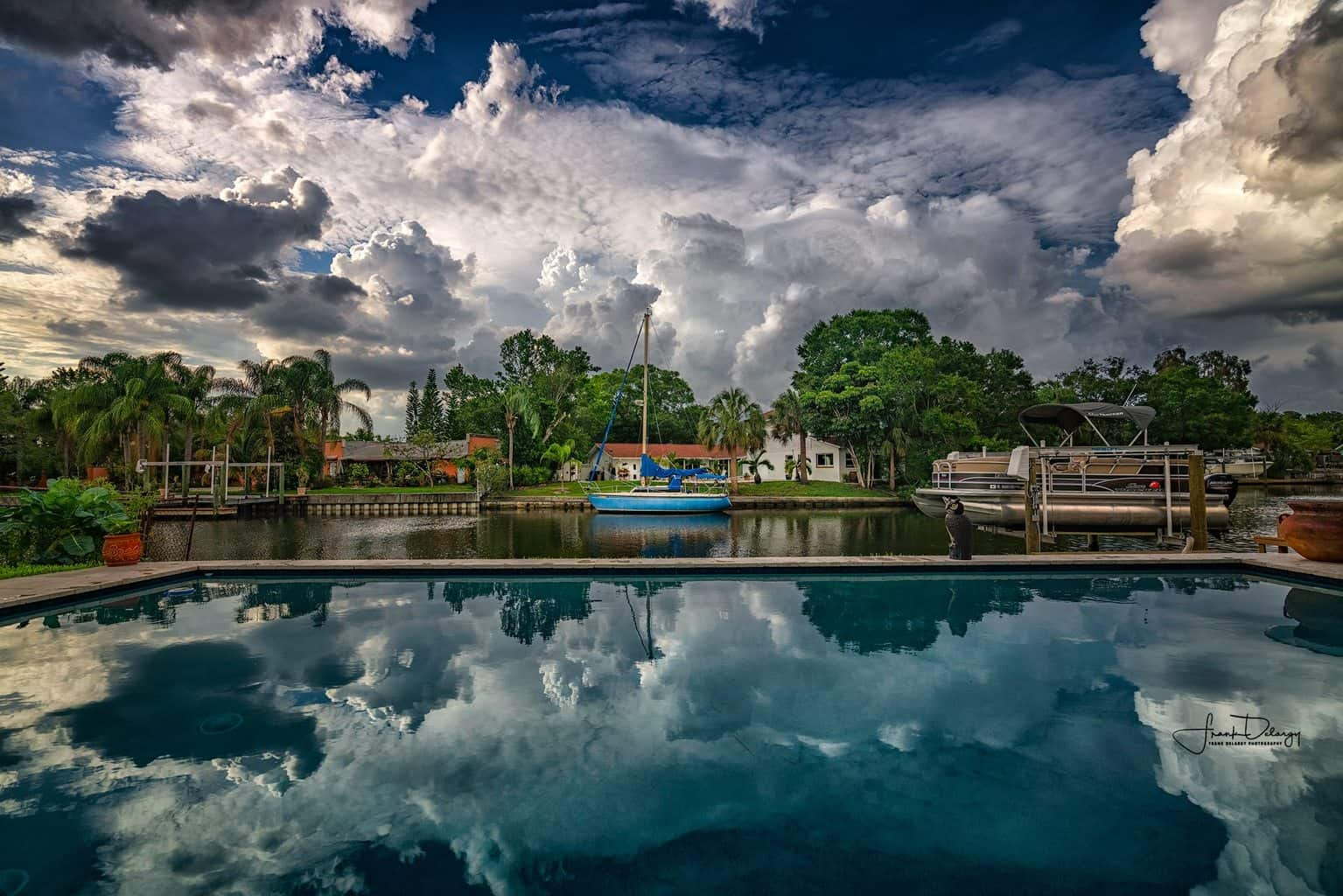 Before the rain.. Tampa's.summer weather pattern begins.