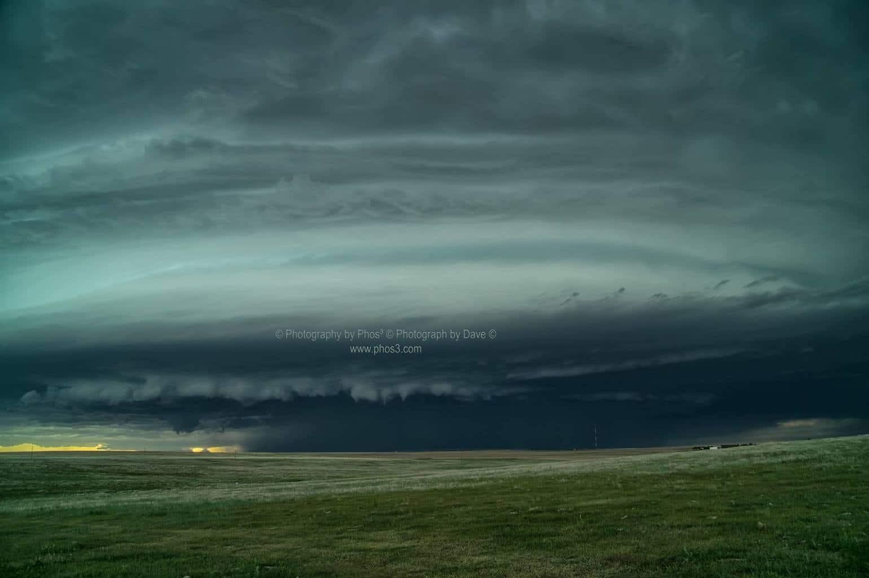 Tornado warned cell Eastern Colorado May 26, 2017.
