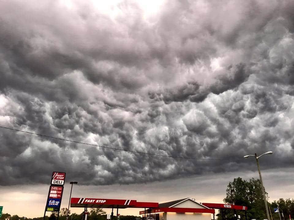 Turbulent Skies over Ullin, Illinois May 27th unedited