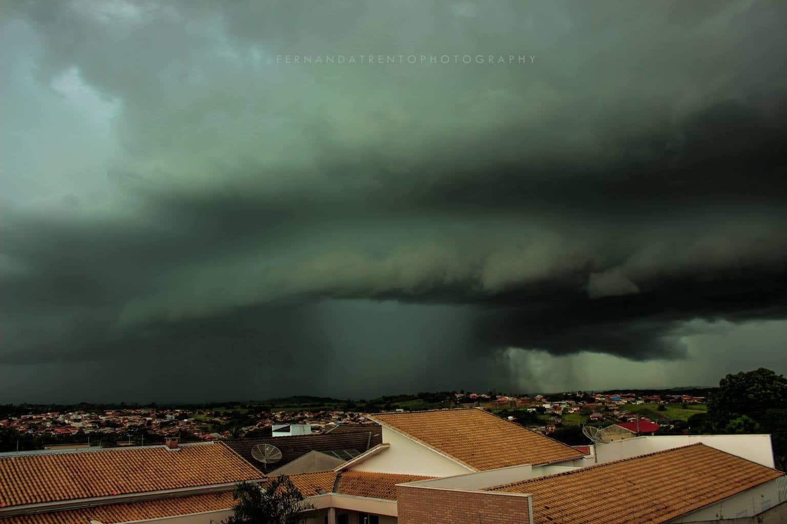 When the sky surprises you. Santo Antônio da Platina - Paraná - Brazil! February 25,2017