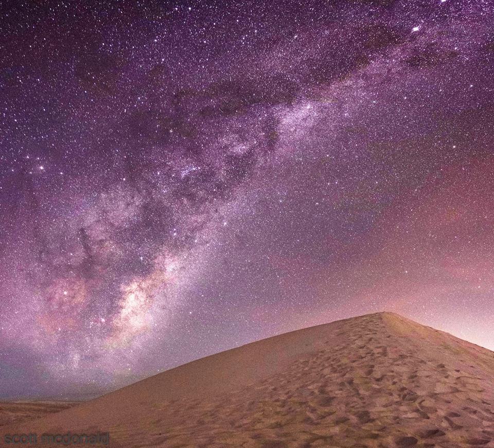 milkyway rising tonight in western australia