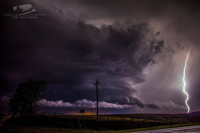 August 13th 2017 Slightly to the south of Miller Nebraska.