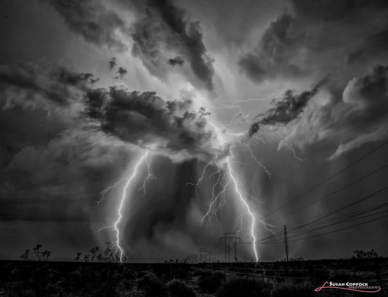 A wonderful storm taken last September during the final monsoon of the season in Arizona.