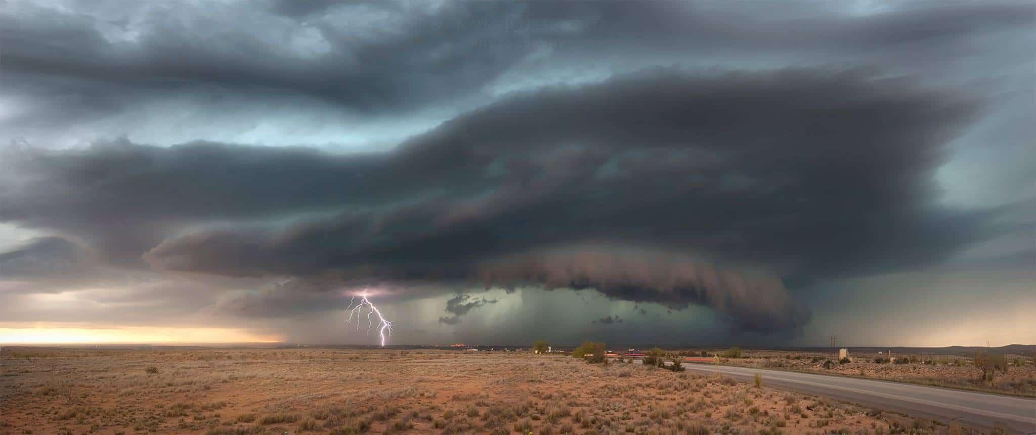 """""""Desert Storm"""" Artesia, New Mexico."""