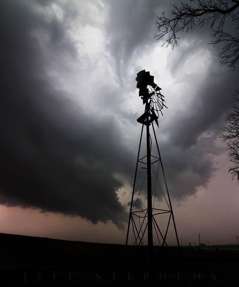 Beautiful Texas storm. Covington,Tx