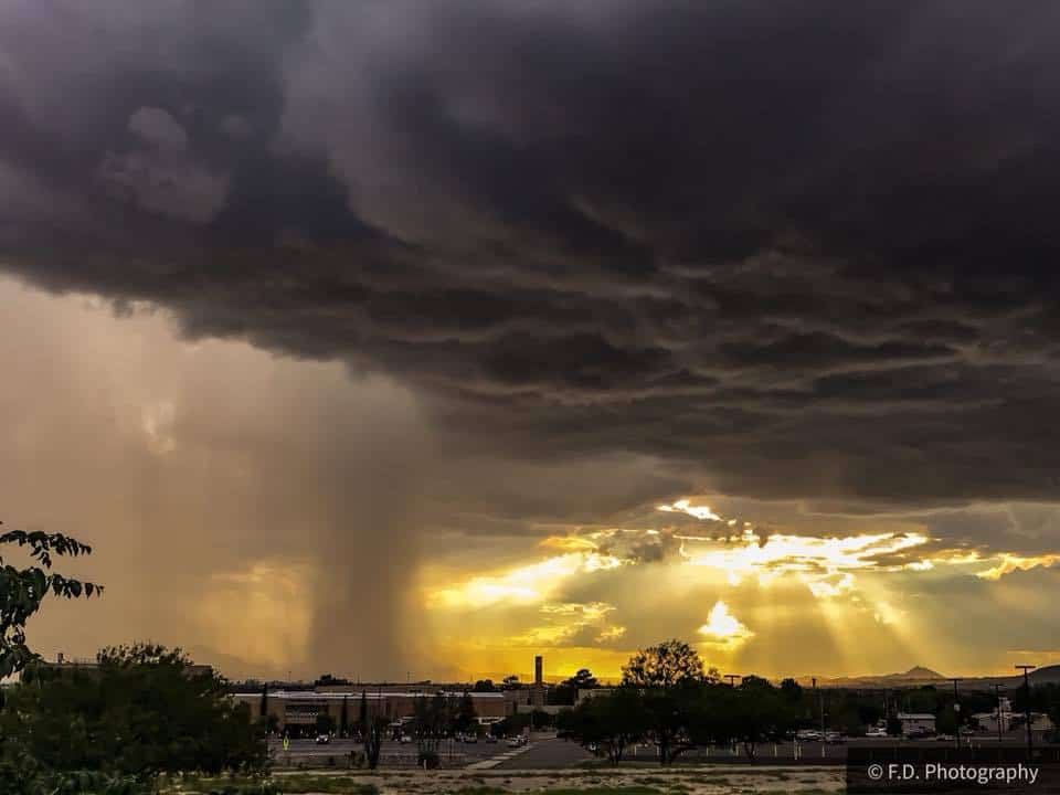 Took this last year! Still waiting for some thunderstorms to visit El Paso, Texas!!