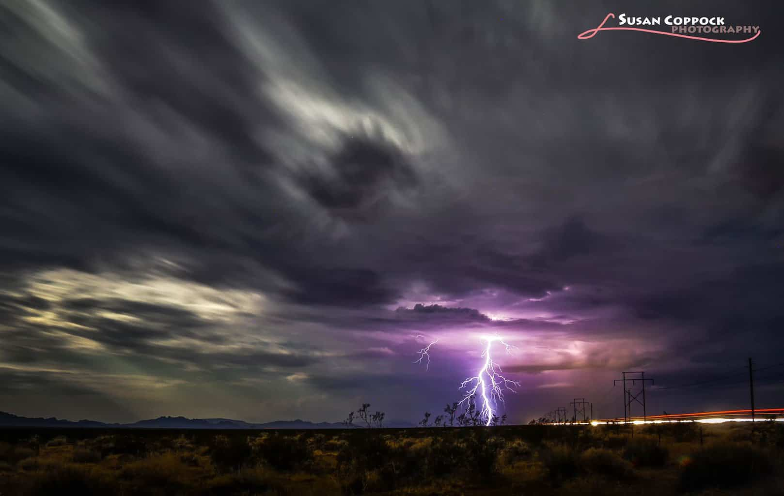 One of the last shots of the monsoon season last year in September. Taken just outside Quartzsite, Arizona.