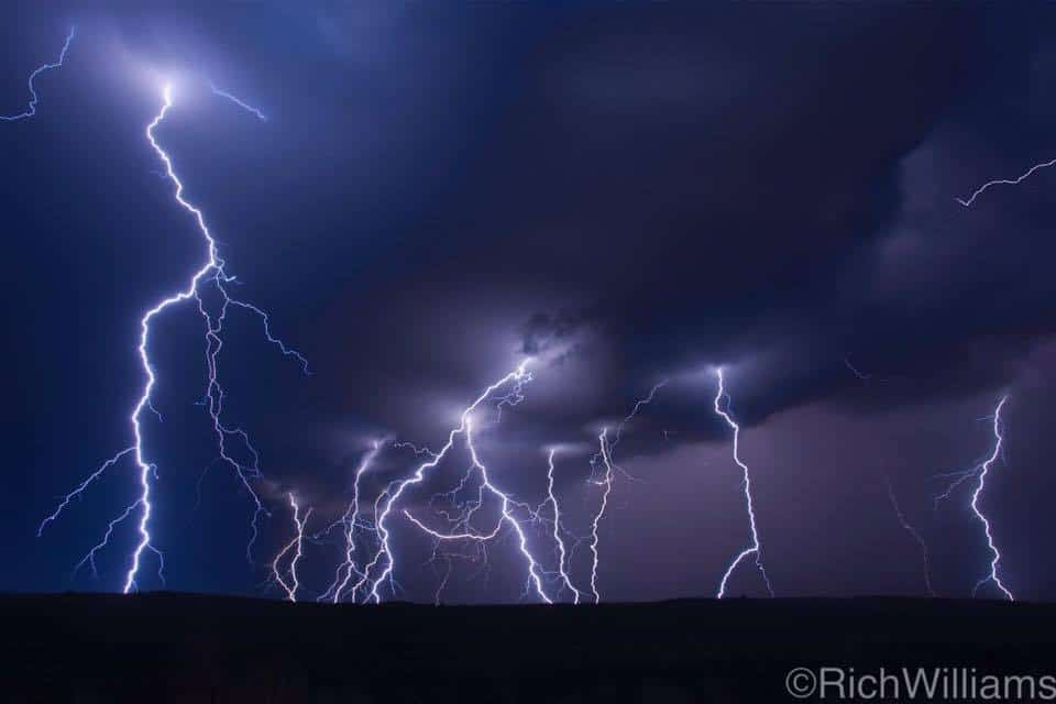 Yesterday of last year, Steven Coy and I were enjoying a lightning display that ramped up suddenly! Broken Bow, Nebraska!