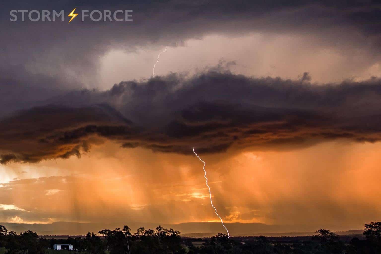 Harrisville SEQLD This storm was CG machine