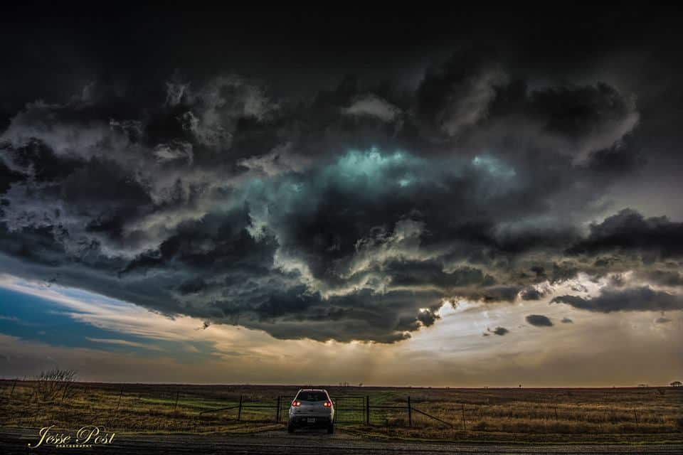 """So all those times I was told """"see you under the meso"""" ... I wondered where you were this time? 🤓  """"Under the Meso"""".......literally Dean, Texas"""