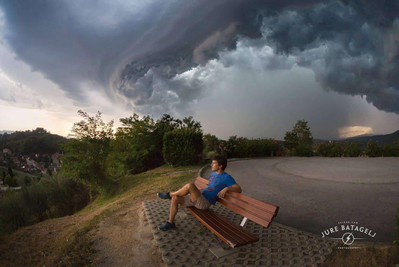Big hail storm at the border of Nova Gorica (Slovenia) and Gorizia (Italy) - 28.08.2017 Canon 5D Mark III Sigma 15mm f/2.8 EX DG Diagonal Fisheye ISO 400f/5.6 EXP 1/160s Keep Calm and Watch