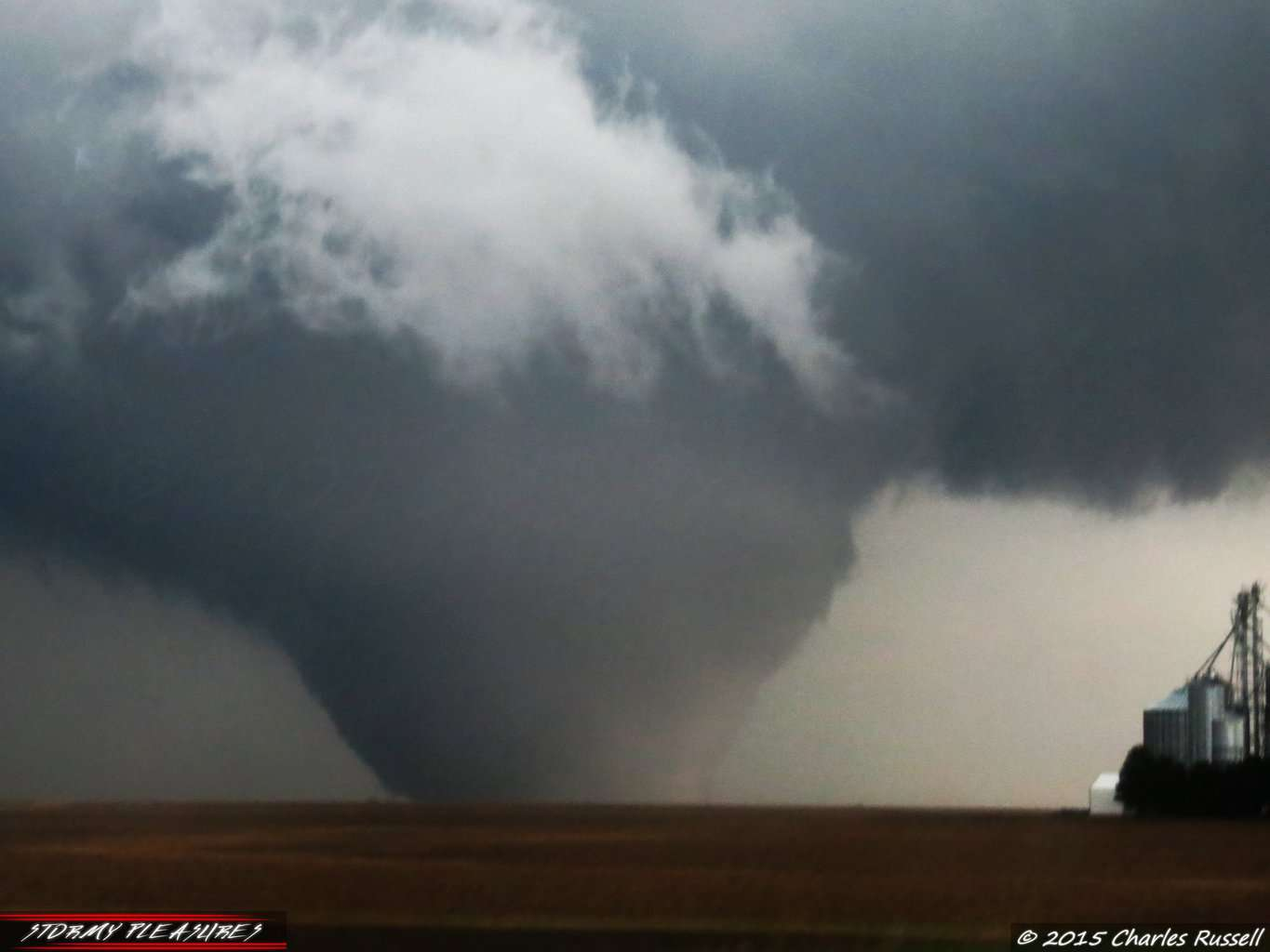 3 years ago today in northern Illinois... this beast left a trail of destruction through Fairdale and Rochelle. EF-4 wedge tornado!
