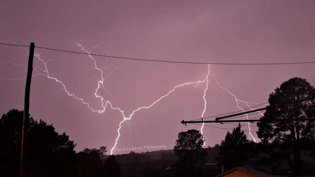 Had an autumn storm pass two nights ago (14-4-18) with quite a bit of electrical activity in the hinterland of Coffs Harbour NSW Australia. Been a while since we had a storm so was nice to see and experience it.