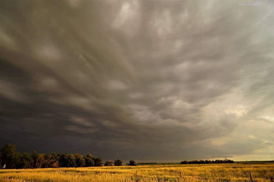 The Plains of Nebraska. USA
