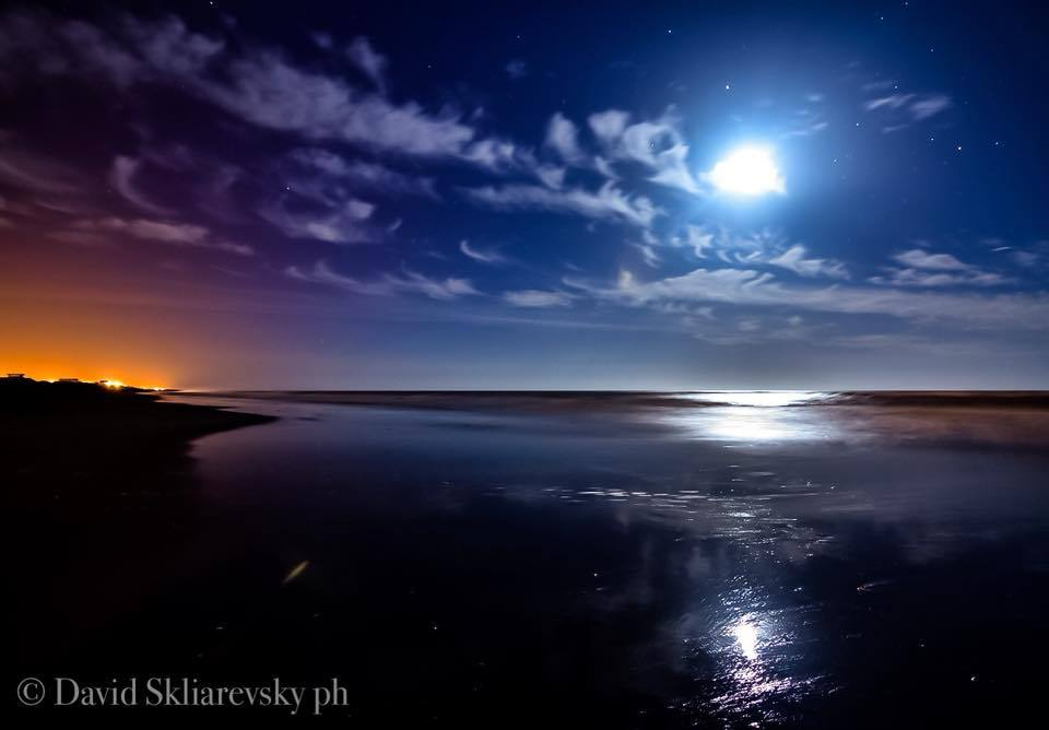 No storm,only clouds,sea and stars... Mar Chiquita,Argentina