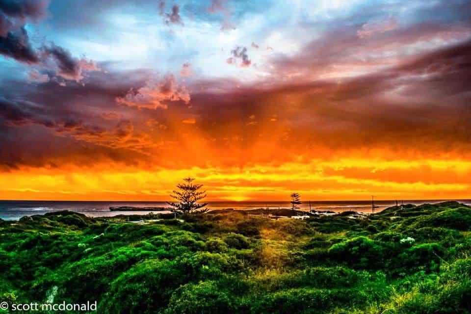Sunset from Lancelin Western Australia