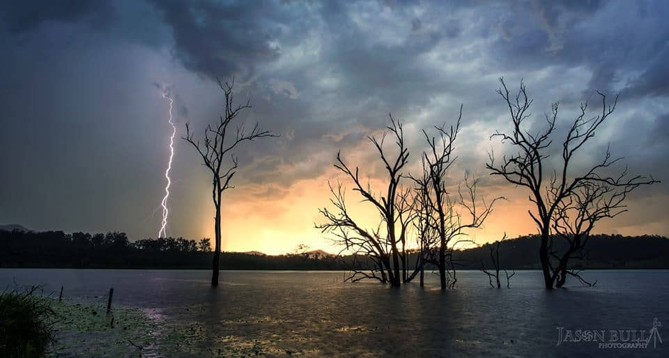 Nothing better than a sunset storm, love the soft light with this. Taken late last year in the Aussie Storm season !!!