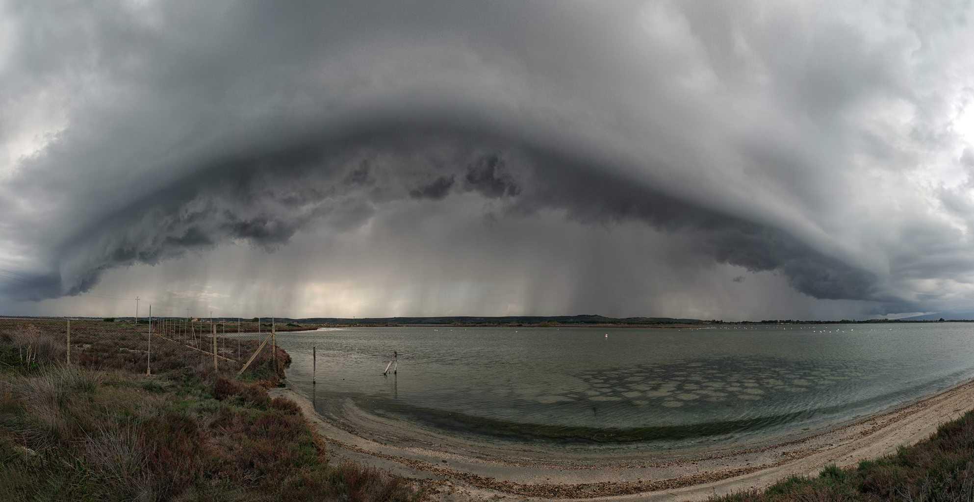 Shelf Cloud Sardegna 26 12 2018