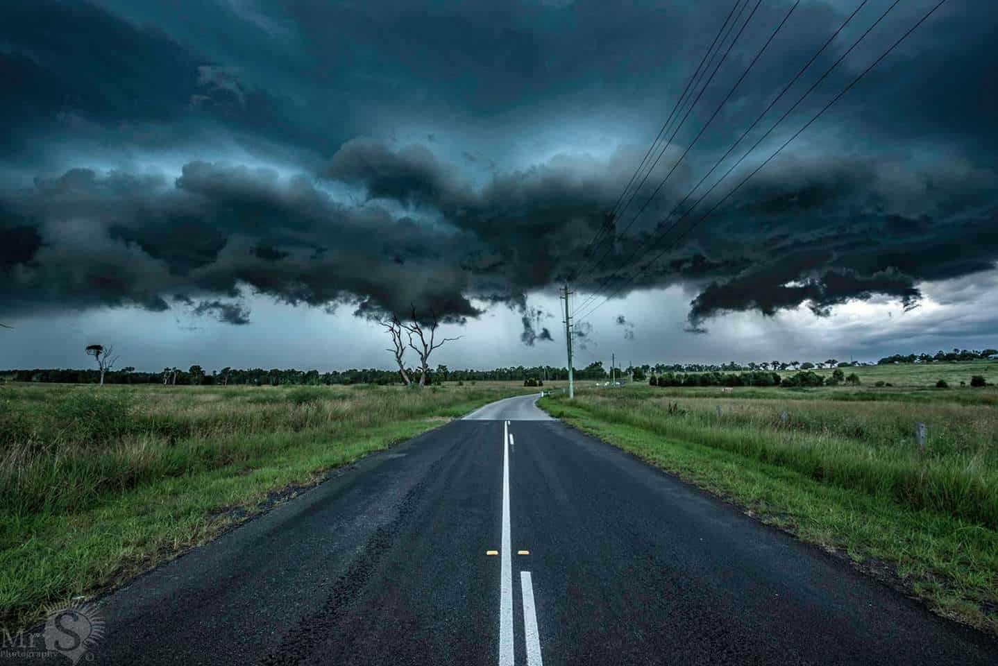 One of the last storms I seen this season in Qld Australia. I was shooting the far left when the cells speed picked up suddenly and I was faced with this view just before leaving.