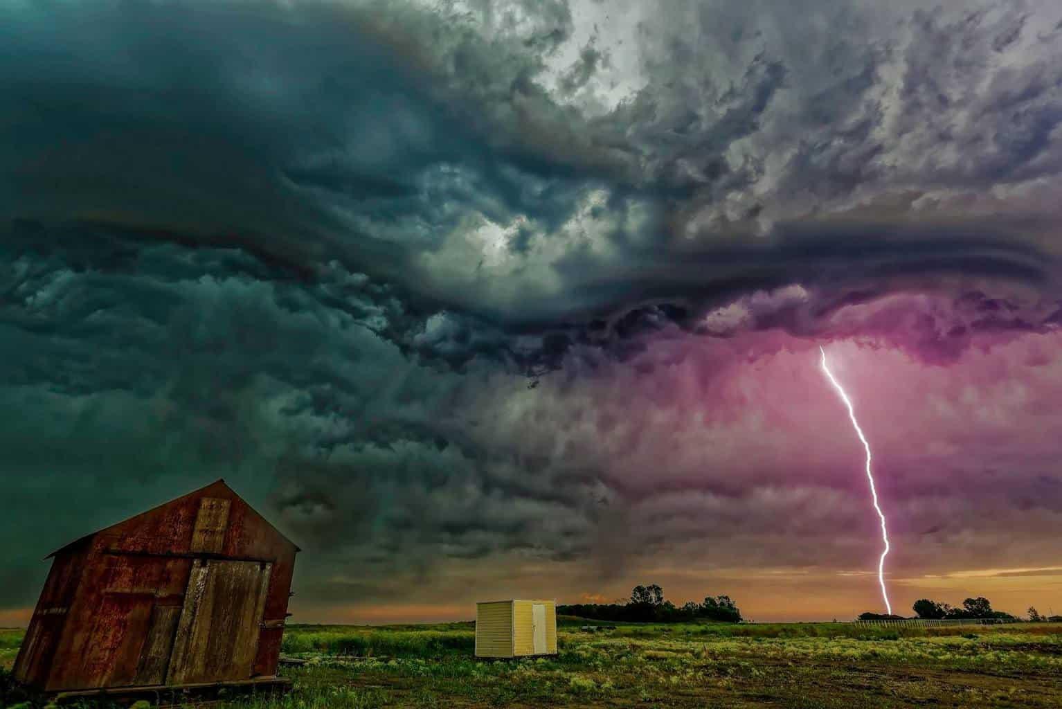 """"""" Fav lightning photo:)"""" southeast sask !"""