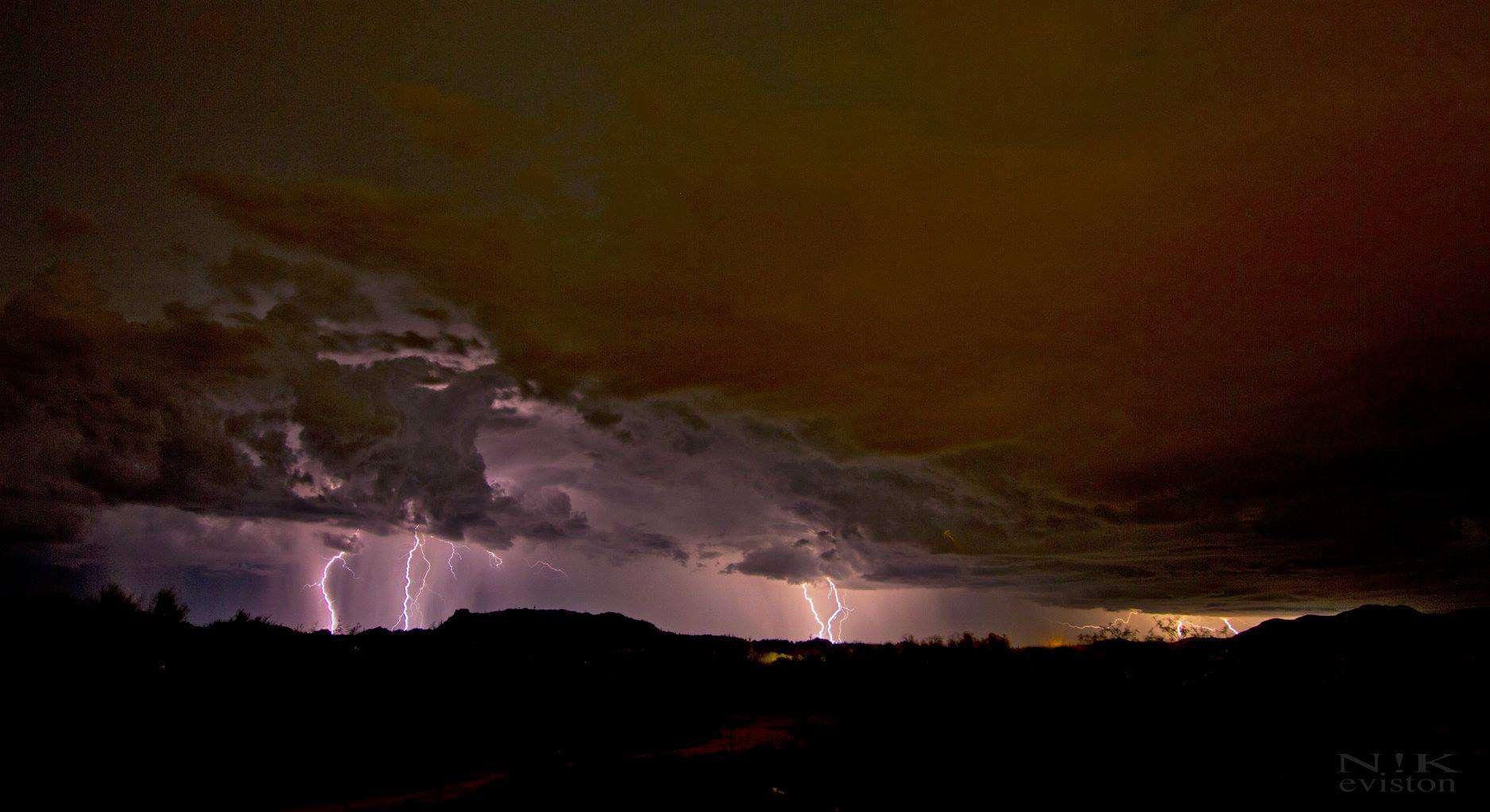 Just waiting for monsoon season. Oro Valley, Az.