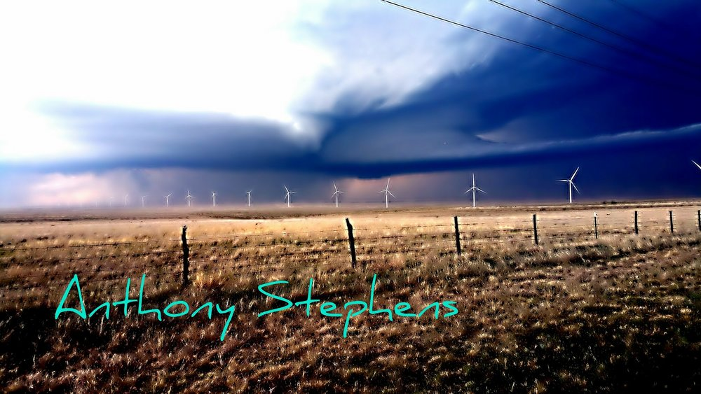 Nice supercell in the Texas panhandle April 2015. Near Borger Texas