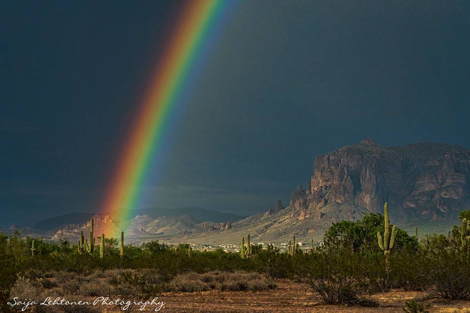 Anxiously awaiting the monsoon season in Arizona...:)