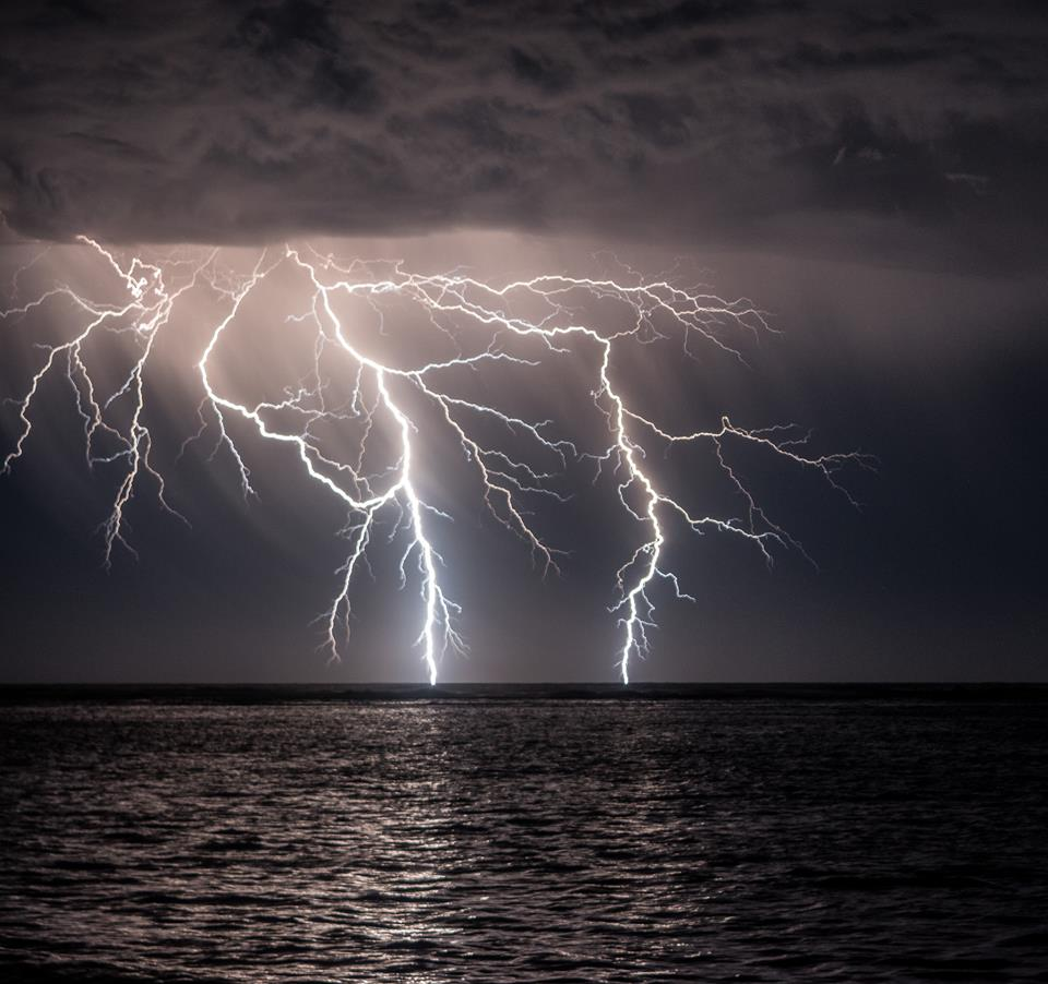 front row seats to an amazing lightning show