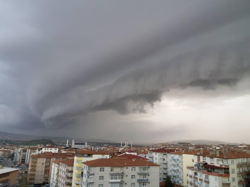 08.03.2018 Turkey - Kırıkkale Shelf Cloud :)