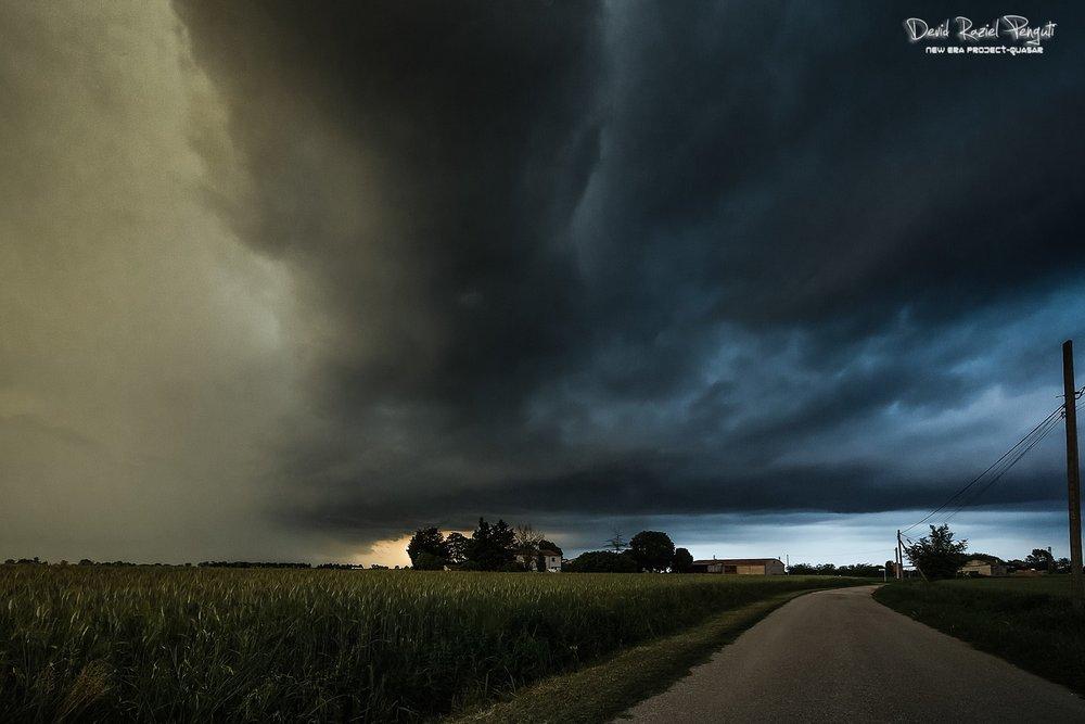 Severe Storm 16.05.2018 Polesine, Italy