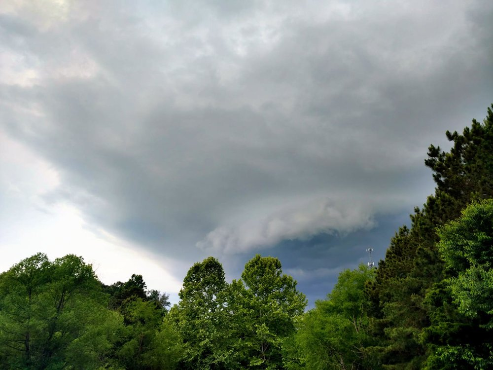 Current situation & the Thunder rolls. Lafayette, GA.